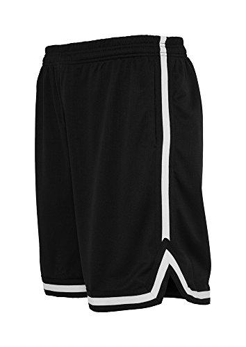 Stripes Mesh Shorts blkblkwht M