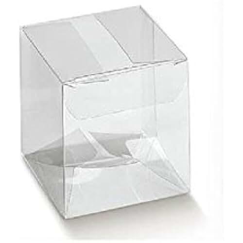 ideas regalos para comuniones kawaii IRPot–50x caja mini cubo portaconfetti PVC 12382