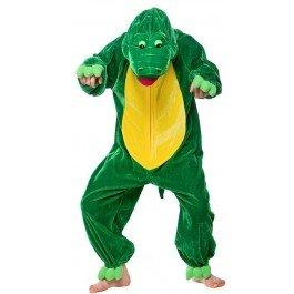 Tier-Kostüm für Kinder Boogie-Woogie Krokodil, Gr. S -