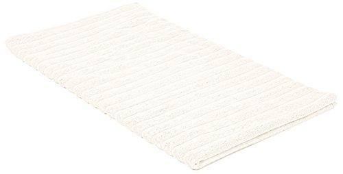 Bianca Cotton Soft BIANCA Baumwolle Weiche Gerippte Super Bad Blatt–Creme, baumwolle, cremefarben, Super Bath Sheet (Baumwolle Bath Sheet)
