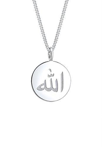 Elli Damen Halskette Schriftzeichen Geo Symbol 925 Sterling Silber 0111642717_45