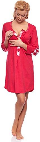 Italian Fashion IF Camicia da Notte per Allattamento Z6T1 M003