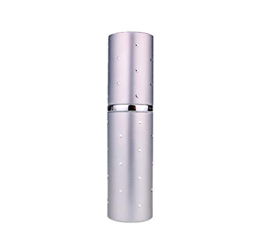 10ml Argent Dot Fragrance Fragrance Sac à main / atomiseur Voyage, Rechargeable , Avec Entonnoir