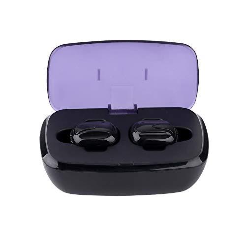 Neubula Sport Bluetooth Kopfhörer,Bluetooth 4.1 Kabellos Headset Ultra Small Mini HiFi In-Ear Ohrhörer Eingebautes Mikrofon mit Hochwertiger Chip für Stereo und Bass Sound (Schwarz) (Watch Phone Boost Mobile)