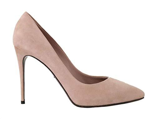 Dolce & Gabbana - Damen Schuhe - Pumps Pink Suede Leather Pumps Heels- EU 39 Dolce & Gabbana Print-heels