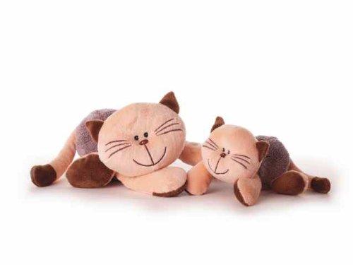 Inware 7774 - Kuscheltier Katze Mia, 20 cm, Schmusetier