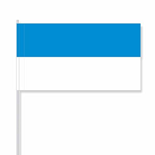 """antrada Papierfähnchen \""""blau-weiß\"""" (250 Stück)"""