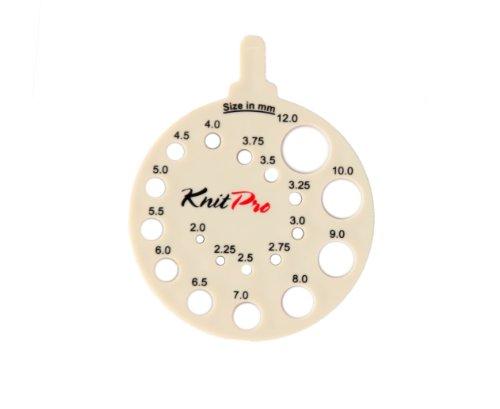 KnitPro KP10991 Aiguille Ronde, Bois, Multicolore, 22 x 0,9 x 12,5 cm
