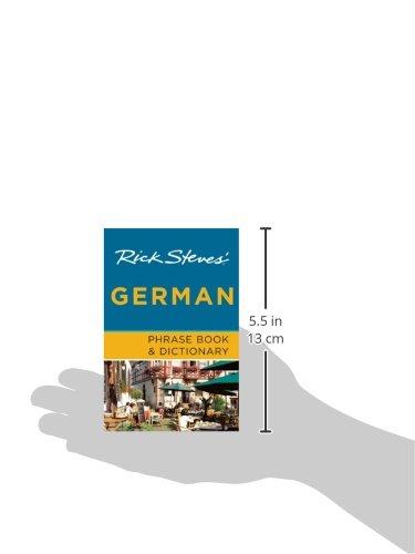 Rick Steves' German Phrase Book & Dictionary (Seventh Edition) (Rick Steves' Phrase Books & Dictionaries) [Idioma Inglés]
