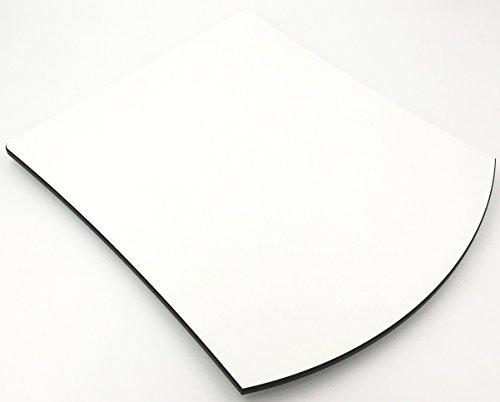 """Gleitbrett für den Thermomix® TM5 / TM6\""""HPL\"""" PERL-WEIß von Leckerhelfer"""