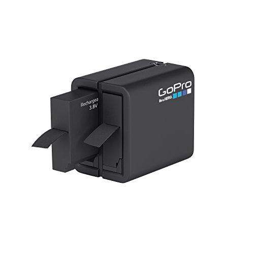 GoPro AHBBP-401 - Cargador de batería doble + Batería para GoPro HER