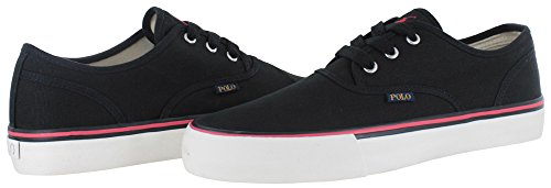 Ralph Lauren Mens Morray Textile Trainers Polo Black