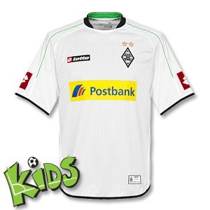 Lotto Sport Jungen Jersey Short Sleeve Home Bm 12, white, 152/164 (L), Q4452 (Lotto-zeichen)