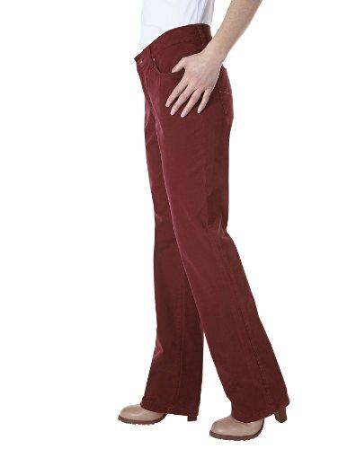 Pioneer Damen Hose 3097_5102_790 BETTY Straight Fit (Gerades Bein) Normaler Bund Rot (790 red)