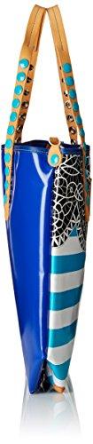 GABS - Gabsille, Borsa con Maniglia Donna Multicolore (Mehrfarbig (P0011))