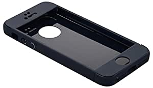 Ibbie Plastic Mobile Protector For Iphone 5G/5S/5SE (Navy Blue)
