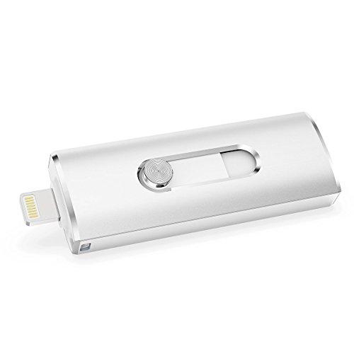 RAOYI USB Memory Stick 64 GB USB 3.0 Flash Drive Externer Speicher Thumb-Laufwerk Compatible für iPhone X / 7 Plus/iPad/Mac Buch/Computer/PC (Externen Speicher-laufwerk Für Ipad)