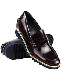 Zerimar Zapato Estilo Casual con Cordones Fabricado EN Piel Color Gris Talla 46