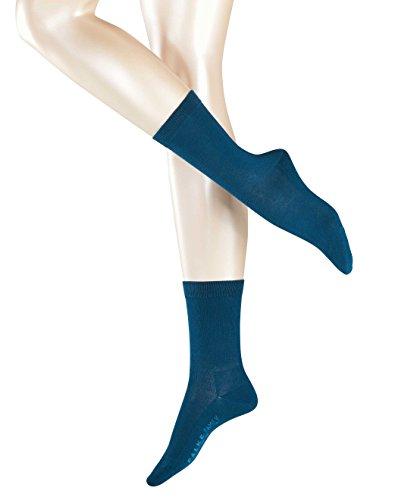 FALKE Damen Socken Family Grün (Petrol 6394)