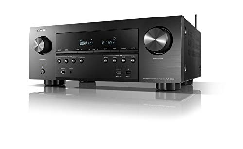 Denon AVR-S950H Receiver, 7.2 Channel (185W X 7) - 4K Ultra HD Home Theater (2019) | Music Streaming | New - eARC, 3D Dolby Surround Sound (Atmos, DTS/Virtual Height Elevation) | Alexa + HEOS
