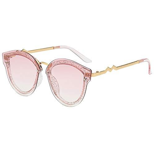 Honestyi Frauen Mann Mode Vintage unregelmäßige Form Sonnenbrillen Eyewear Retro Unisex S8056 Sonnenbrille