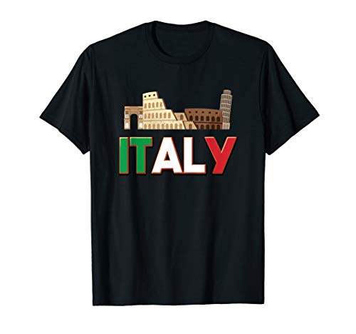 Italian City Illustration! Visit Italy T-Shirt