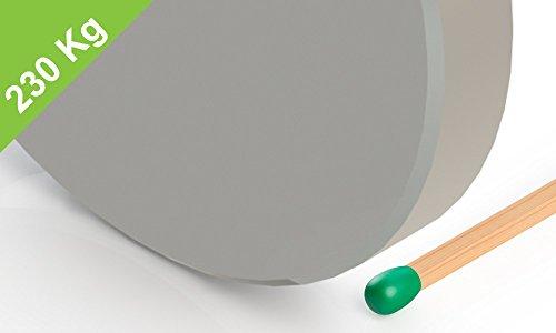 Neodimio disco imán, 70x10mm, niquelado, grado N45, muy fuerte industria magnética