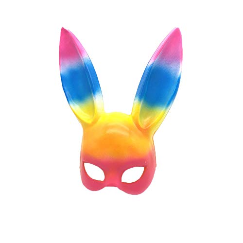 OHDREAM Halloween Cosplay Bunny Maske Halloween Party Kostüm Ball Bunny Ear ()