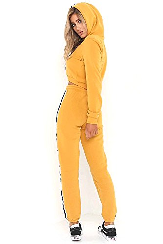 MQ Boutique -  Tuta da ginnastica  - Donna Yellow
