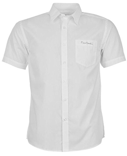 Pierre Cardin -  Camicia Casual  - Uomo Plain White