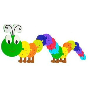 Orange Tree Toys Alphabet Puzzle Caterpillar