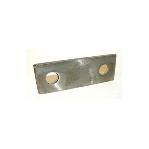 Centri di piastra 35 mm (20 mm impugnatura fr. NB Stand cavallotto) di supporto in acciaio inox Pack dimensioni: 1