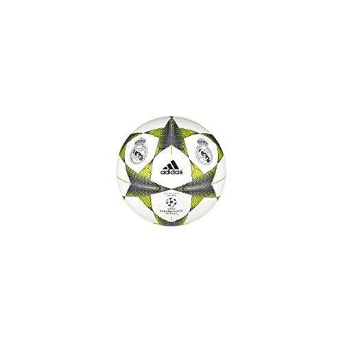 Adidas Finale15RM Cap - Balón de fútbol, Color Blanco/Plata/Naranja