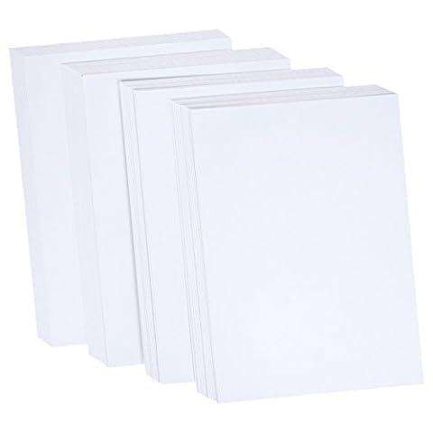 Crafter's companion Lot de 50cartes Centura Pearl 25feuilles A4, blanc neige/Touche de Doré