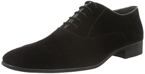 Tamboga Herren 3008-V Oxford, Schwarz (Black 01), 45 EU