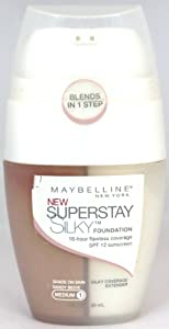 Maybelline Superstay Silky Foundation Medium 1 (Sandy Beige)