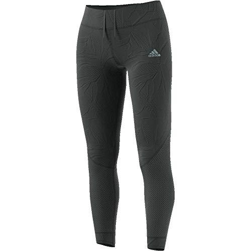 adidas Own The Run Tight 7/8 Paper Floral W Tights (1/1), Damen M Grün (Legend ivy) -