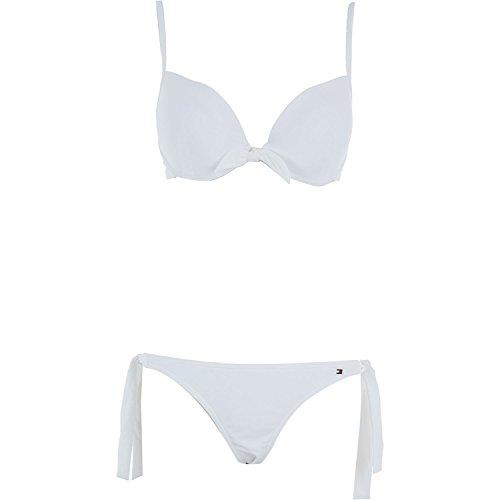 Tommy Hilfiger Damen Bikini-Set Weiß