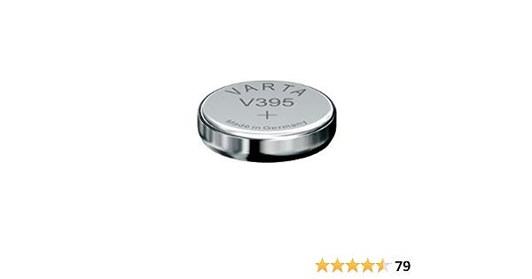 Knopfzelle Silberoxid Uhrenbatterien 1 Stück Blister Elektronik