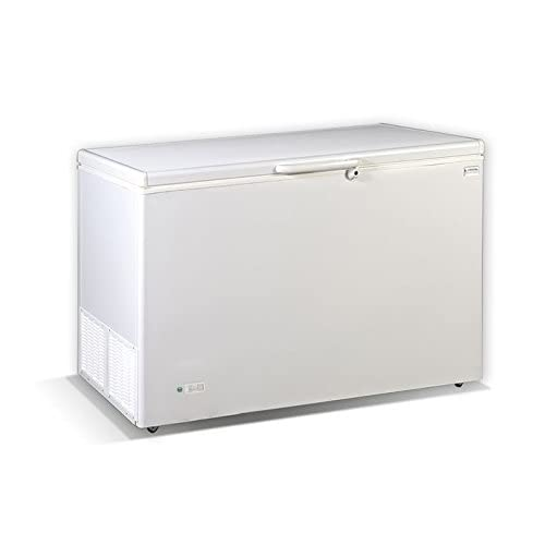 31cIwB9QPgL. SS500  - Crystal S.A IRAKLIS 46 Commercial Chest Freezer 417Lit - LxWxH: 1388x731x869mm (Made in Greece)