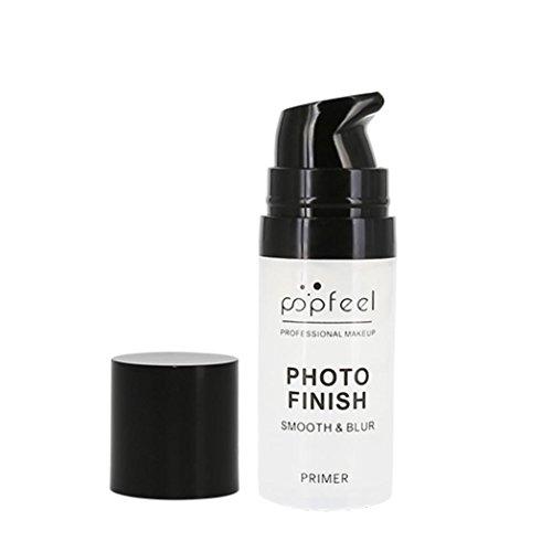 Ouneed Bases de Fard à Paupières Primer Teint Maquillage Blur Primer MakeUp Base Oil Control-15ml (Blanc)
