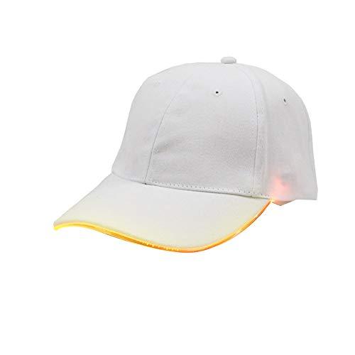 Yxczhis Sonnenhut Hohle Fluoreszierende Hut DIY Glow Stick Cap Party Favor Kinder Geschenk Festival Prop, Rollenspiel Hut, dekorativen Hut, langlebig und stilvoll (Diy Stick Glow)