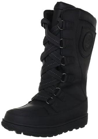 Timberland MKLK 8IN WPLACEUP BLACK 2072R, Bottes fille - Noir black, 35 EU