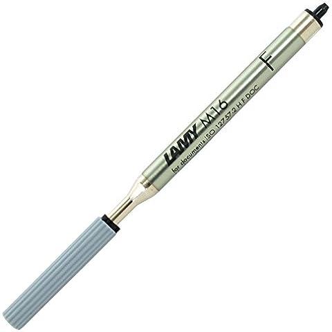 Lamy M16 F refill gigante per penna a sfera, nero