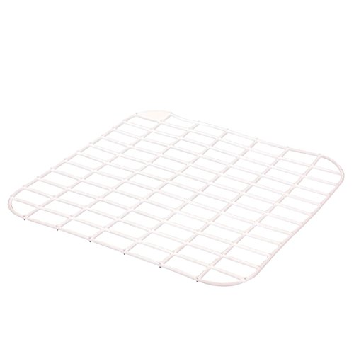 Preisvergleich Produktbild Bürstenmann Kunststoff–Spüle Gitter, groß, 35x 35cm, weiß