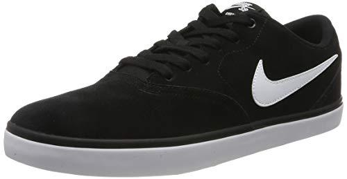 Nike Herren Men's Sb Check Solarsoft Skate Skateboardschuhe, Schwarz (Black/White 001), 48.5 EU -