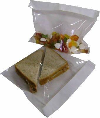 "alimentos 1,000-10 /""x 10/"" Libro Blanco Sandwich Sweet Bag"