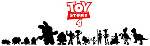 Toy Story 4 Stickers Disney Stickers Toy Story 4 Stickers Muraux