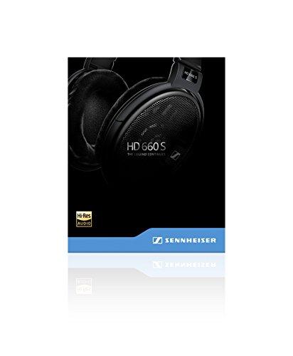 Sennheiser HD 660S Kopfhörer (Audiophiler, offener dynamischer) schwarz - 5
