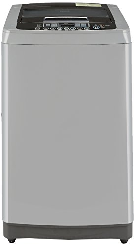 LG T7567TEDLH Fully-automatic Top-loading Washing Machine (6.5 Kg, Middle Free Silver)